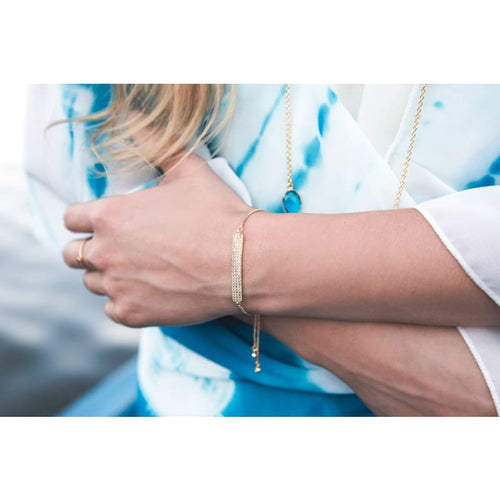 Gold Bar - Adjustable Bracelet Bracelet