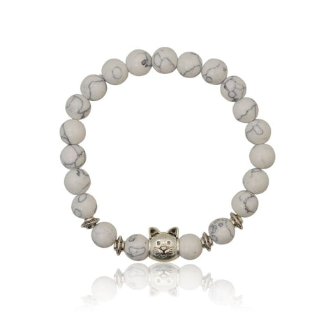 Boxer Stretch Bracelet - Silver or Gunmetal