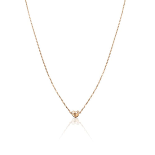 Mini Heart - Rose Gold Necklace Necklace
