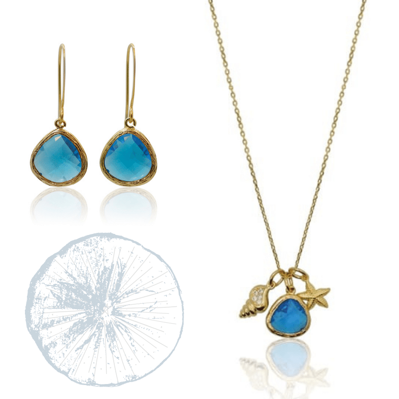 Capri Mini Drop Ocean Charm Set