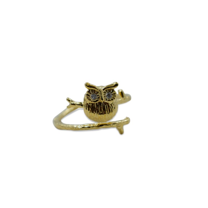 Owl Ring - Gold Ring