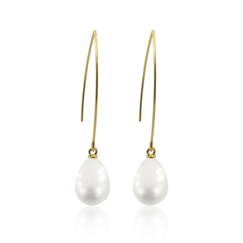 Pearl in Shell COMBO - Earrings & Necklace