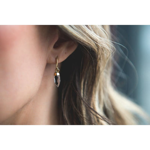 Bubble Trouble - Gold Earrings