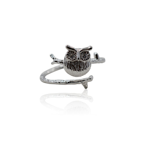 Owl Ring - Adjustable