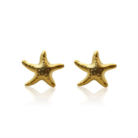 Rainbow Stud Earrings - Gold