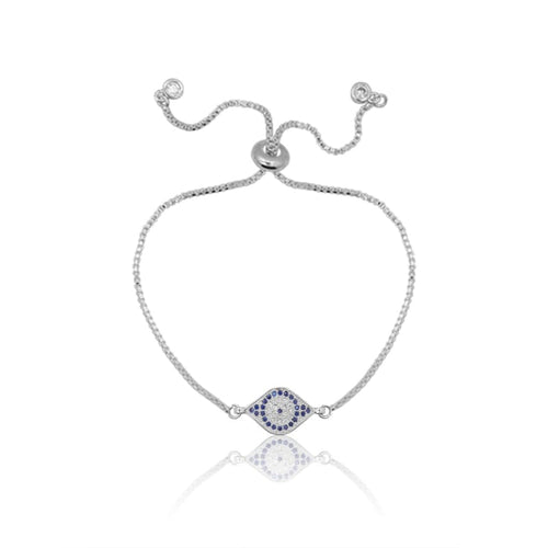 Third Eye MINI Adjustable Bracelet - Silver bracelet