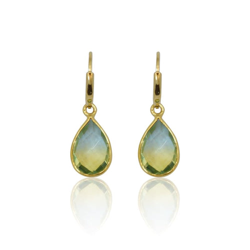 Tropical Aura MINI Drop Earrings - Gold earrings