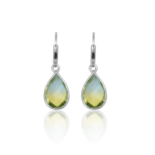 Tropical Aura MINI Drop Earrings - Silver earrings