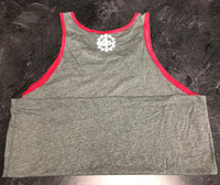 1 GOAL Gray/Red Tank Top.