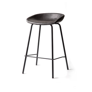 ZEIL Lowback Kitchen Bar Stool Grey