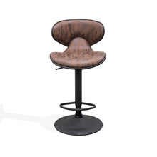 AUSTIN Bar Stool Seat Gas Lift - Brown