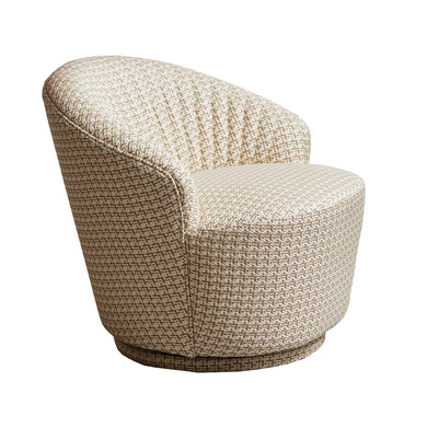 ELSA Accent Chair Swivel Base - Gold