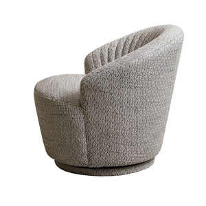 ELSA Accent Chair Swivel Base Grey