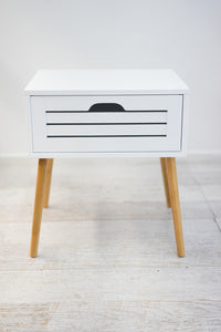 VEGA Side/Lamp Table - White