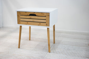 VEGA Side Lamp Table - Bamboo