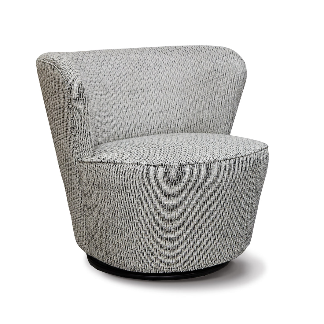 SIENA Accent Chair Swivel base Grey