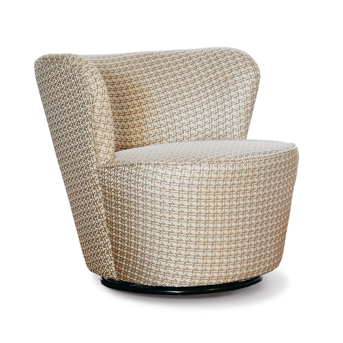 SIENA Accent Chair Swivel Base Gold