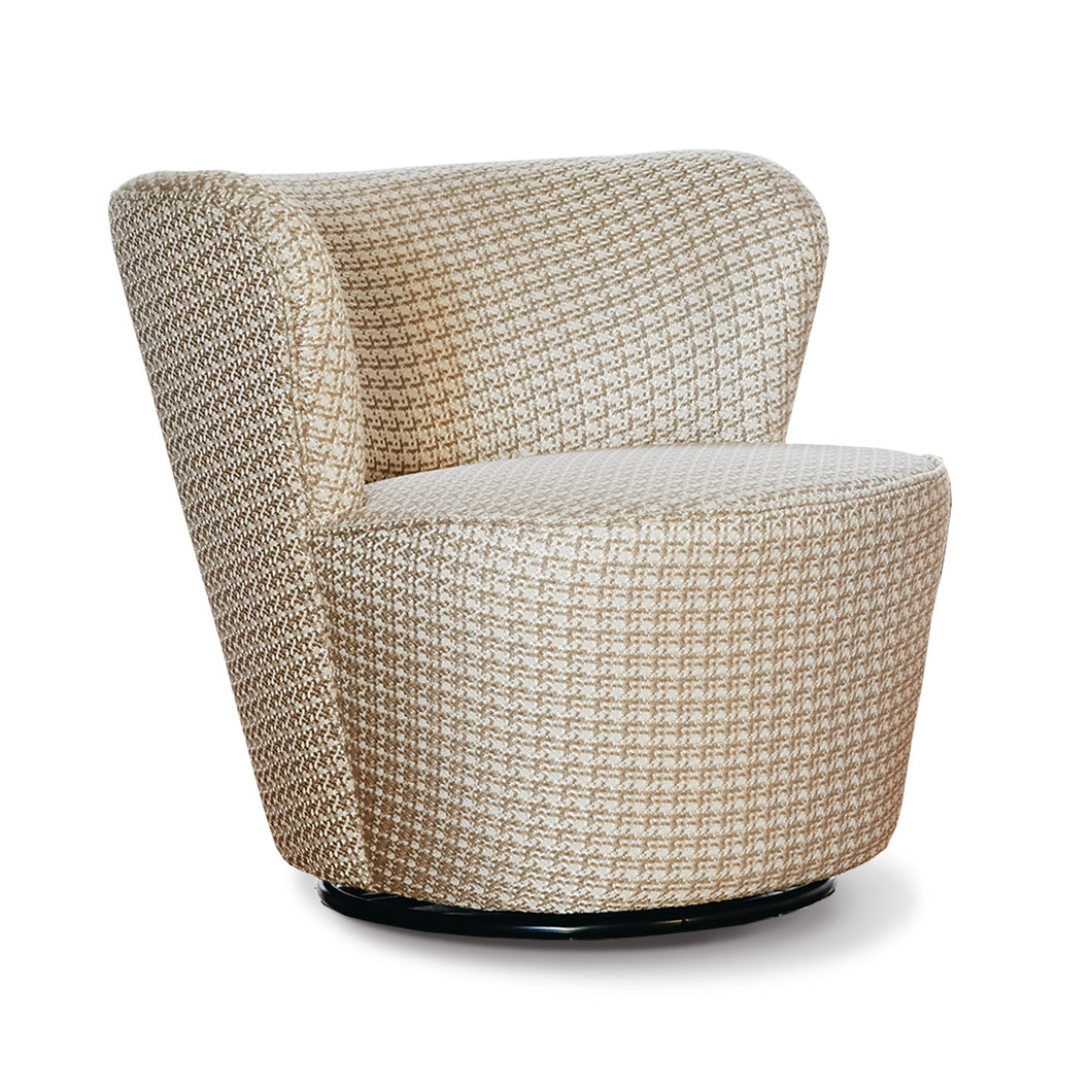 SIENA accent chair 360 swivel base