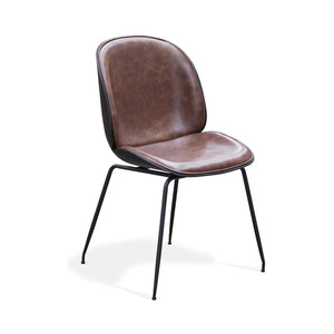 TILGA 01 Padded Dining Chair - Pecan
