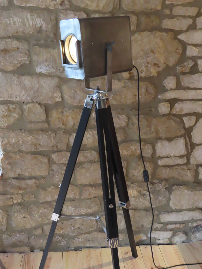 Vintage Strand Theatre Fresnel Spotlight Part 45