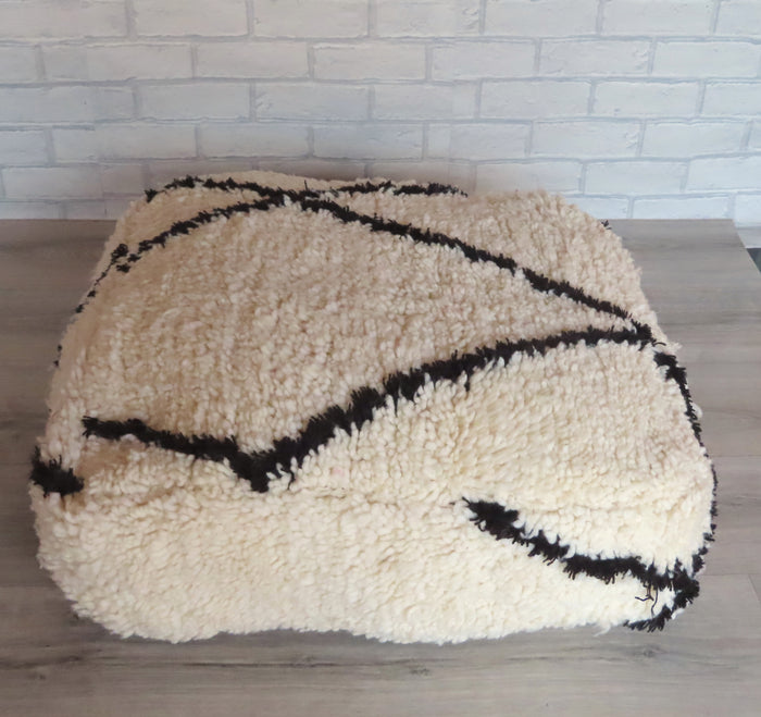 Beni Ourain Moroccan Floor Cushion BO5