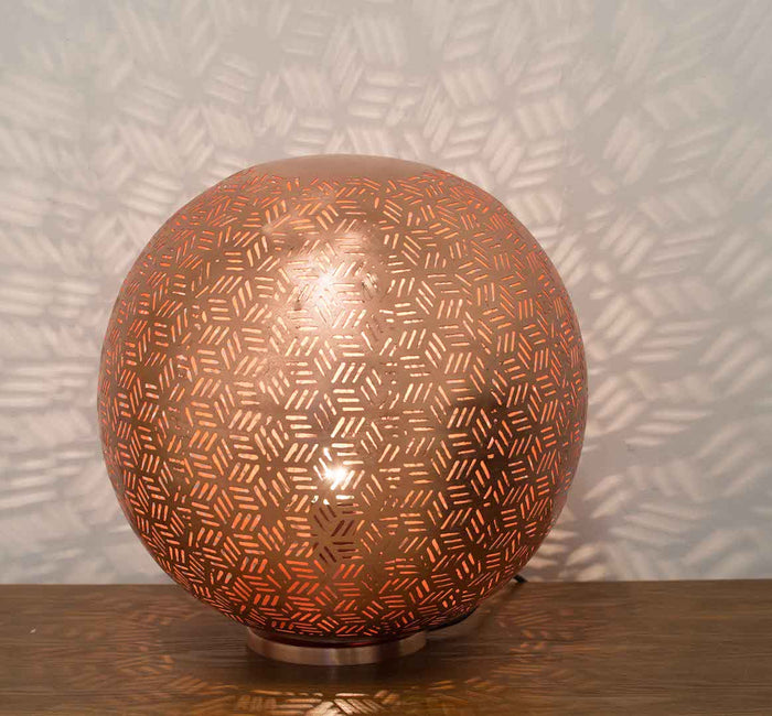 Rose Gold Ball Table Lamp