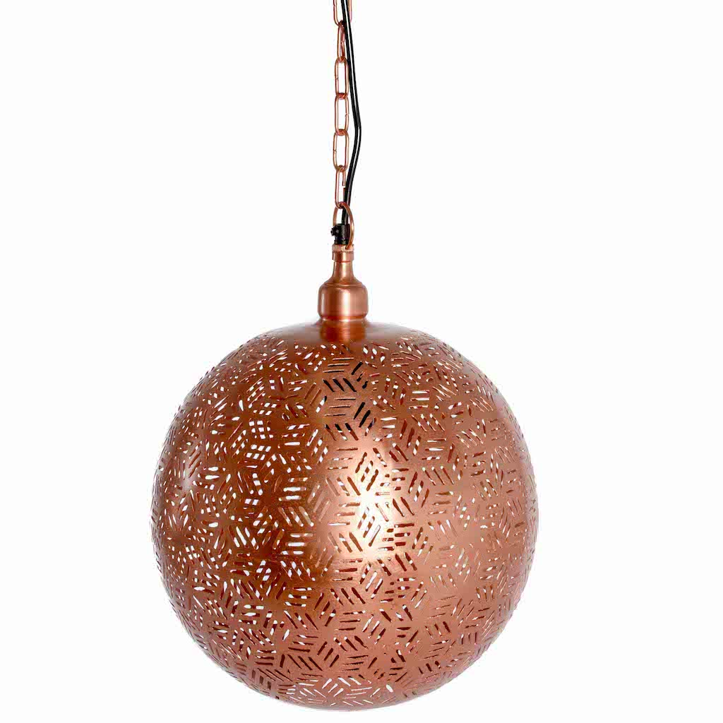 Rose Gold Ball Pendant-Large