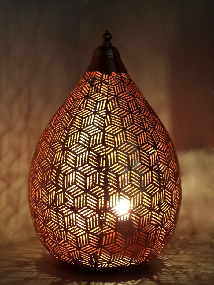 Rose Gold Balloon Table Lamp-Small