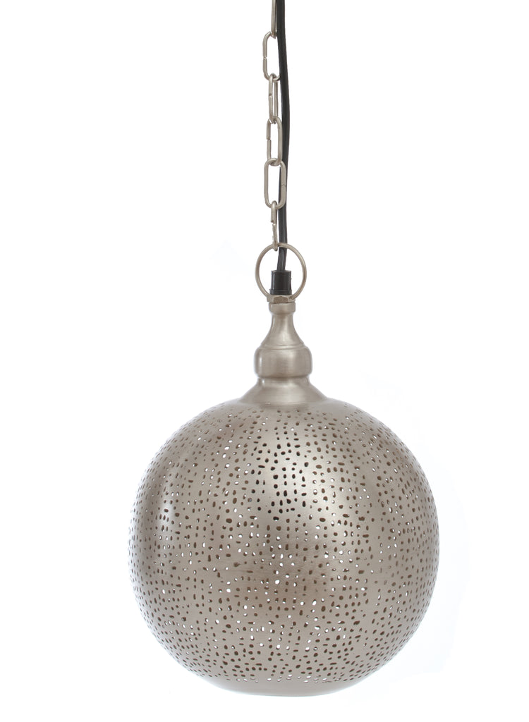Fez Nickel Ball Pendant-Medium