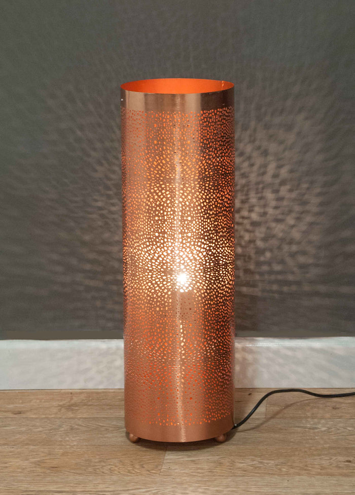 Rose Gold Floor/Table Lamp Cylinder-Large