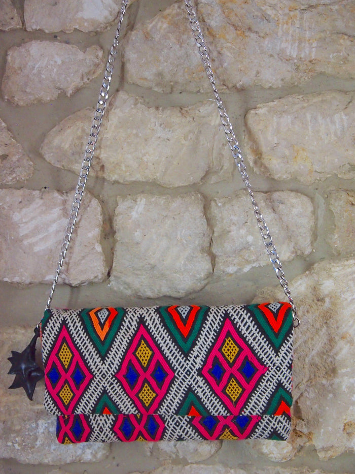 Moroccan Kilim limited edition shoulder bag