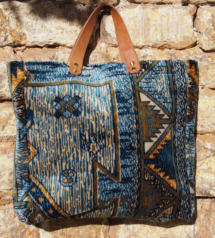 SOUK Carpet Tote by Lalla of Marrakech