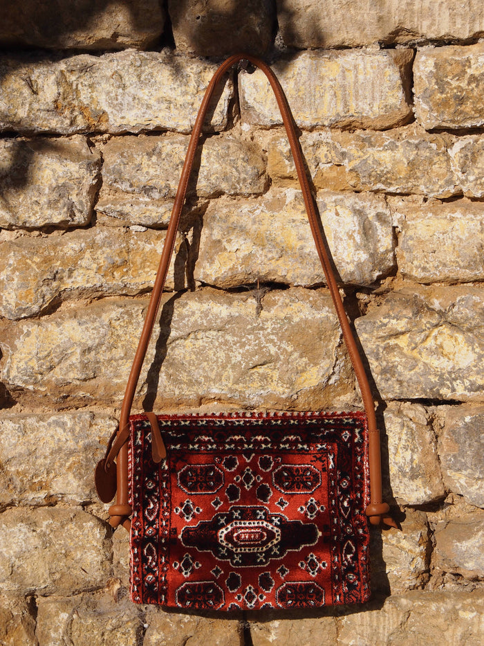 Hamimi Baraka Shoulder Bag-Burgundy