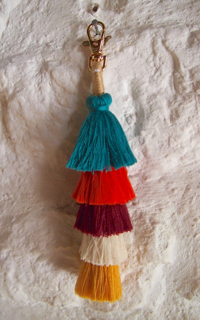 Tassel Key Ring / Bag Charm