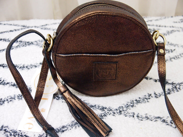 "Virginie Darling "" Darling Moon"" Leather Bag"