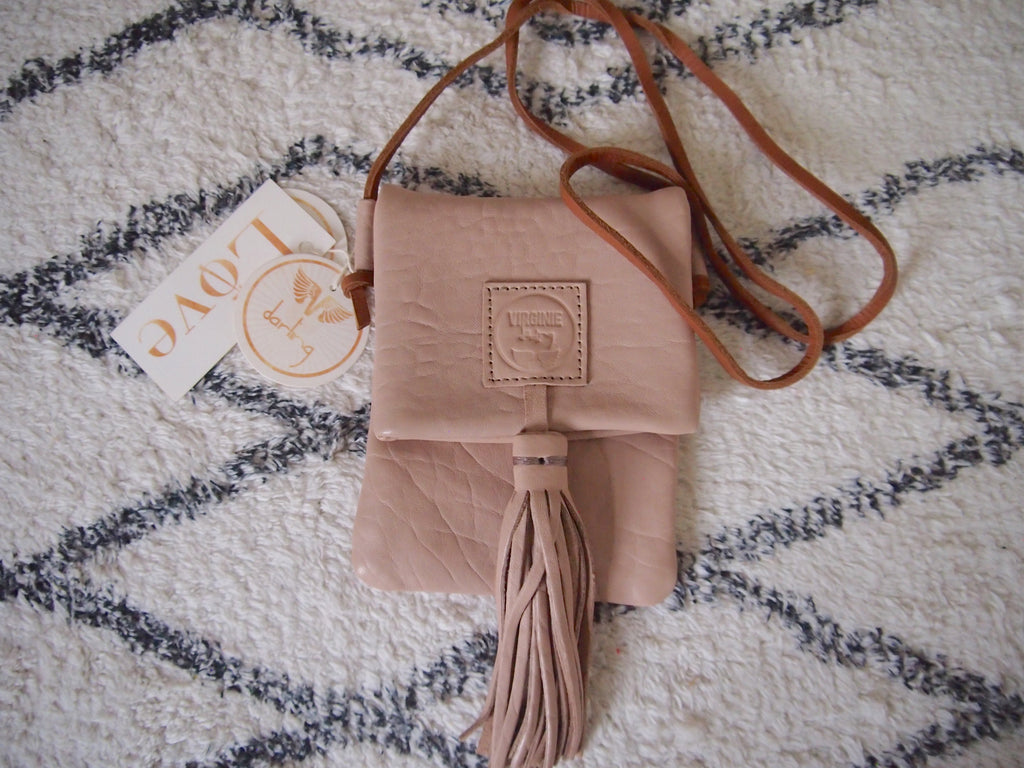 Virginie Darling - Micro Bag -Chalk