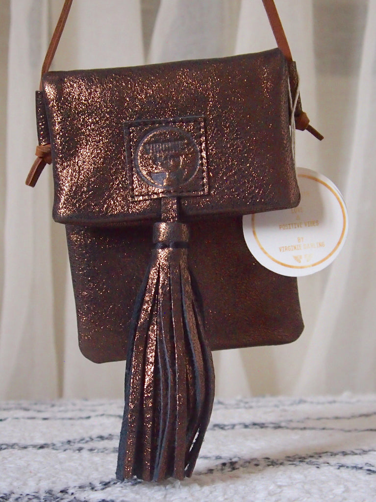 Virginie Darling - Micro Bag -Bronze