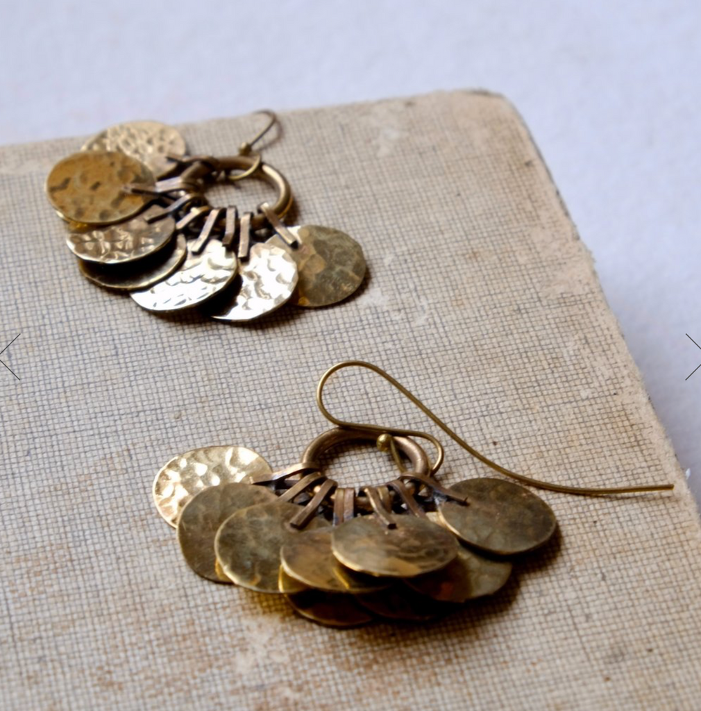 Floos Cluster Earrings