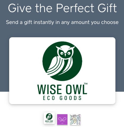 Wise Owl Eco Goods Gift Card