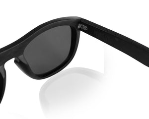 Ebony Wood Unisex POLARIZED Sunglasses | Eco-Friendly & Strong