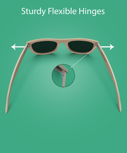 The Origins - Natural Frame / Grey Lens (Bamboo Sunglasses)
