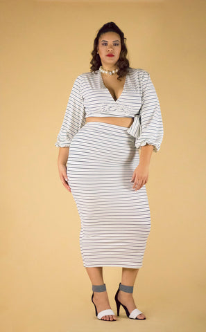 CO Pin Stripe Set