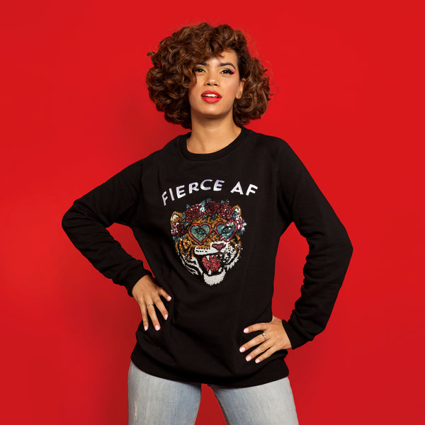 Fierce Embellished Sweatshirt