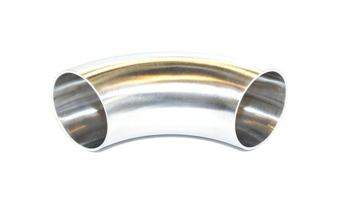 FDR FAB | 1.5 Inch Short Radius 90° Stainless Bend | .065 Wall Thickness No Tangent