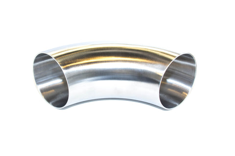 FDR FAB | 3 Inch Short Radius 90° Stainless Bend | .065 Wall Thickness No Tangent