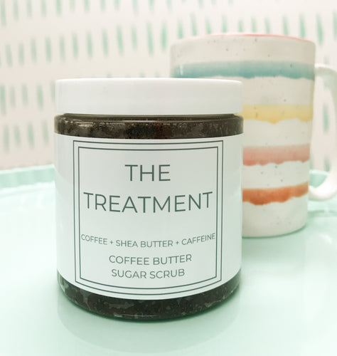 Treatment Coffee Butter Body Scrub