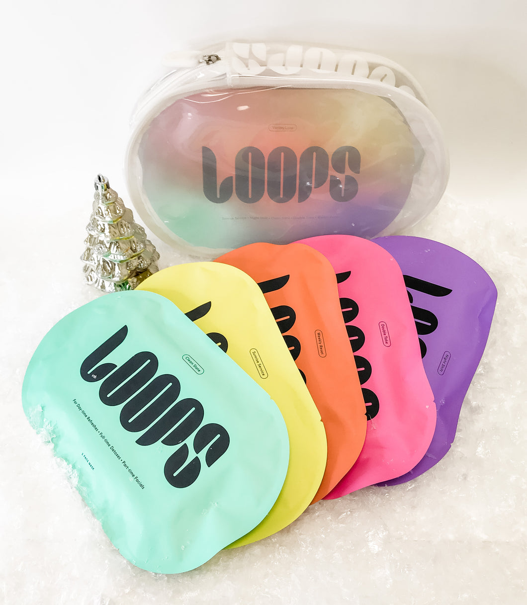 Loops Hydrogel Face Mask Set - Variety Loop