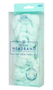 Plush Mint Head Band