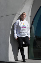 Happy Holigays White Long-Sleeved Tee Shirt<p>