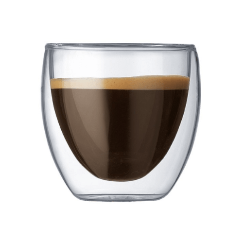 Thermal Coffee Glass Double Wall